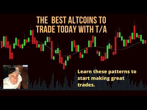 SO MANY ALTCOINS TO TRADE TODAY DONT MISS THE PRICE ACTION!