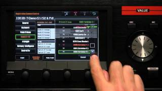 Roland JUPITER-80 Video Tutorial - Part 23 - The S1 & S2 Buttons / Control Pedals