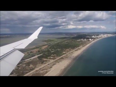 HOP! Bombardier CRJ1000 Flight Video - Paris Orly to Montpellier