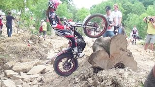 Ladies/Girls Trials Motorcycle Championship - Day Two - Section Five