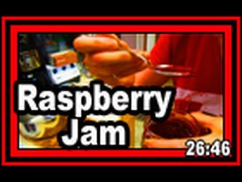 Raspberry Jam - Wisconsin Garden Video Blog 711