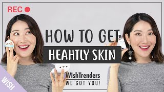 How to Get Different Looks with 1 Cushion| Healthy & Glowing skin, Dewy, Natural skin