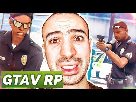 LA POLICE NOUS EMBARQUE ! ( GTA RP ) - Прикольное видео онлайн