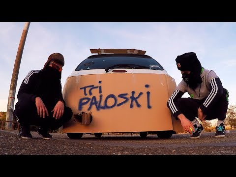 Tripaloski Videoclip | Tri Poloski Three Stripes car | Tunning Hard Bass ;)