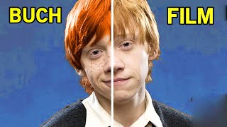 15 Unterschiede zwischen den Büchern und Filmen - Harry Potter