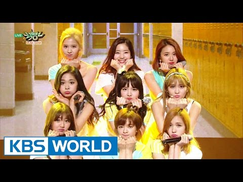 TWICE (트와이스) - Cheer Up [Music Bank HOT Stage / 2016.05.27]