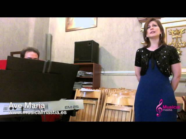 Ave Maria - piano y soprano - Murcia Alcantarilla Santomera Archena