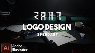 كيفية إنشاء R الشعار في Adobe Illustrator CC 2018