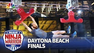 Josh Butler at the Daytona Beach City Finals - American Ninja Warrior 2017