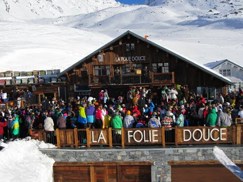 La Folie Douce 2016 Val Thorens France Youtube