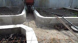 Грядки в бетоне бетонные смеси тяжелого бетона тяжелого