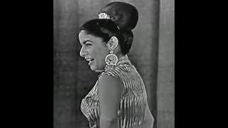 Hanna Ahroni חנה אהרוני - Shechora Ani Venava שחורה אני ונאוה (live in France, 1956)