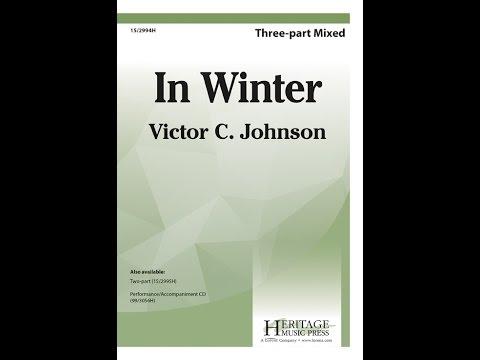 In Winter - Victor C Johnson
