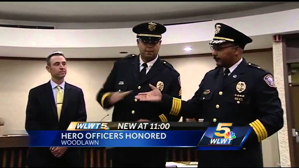 Woodlawn officer who had close call during traffic stop honored