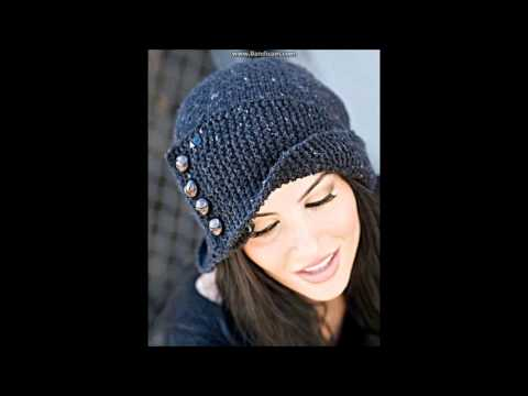 ❄❄❄Зимняя вязаная шапка спицами Робин Гуд❄❄❄Knittted hats Robin Hood.Женская шапка.