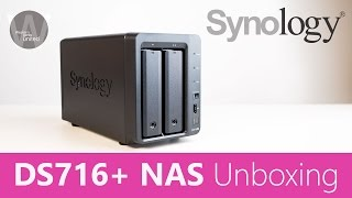 Synology DS716+ NAS UNBOXING