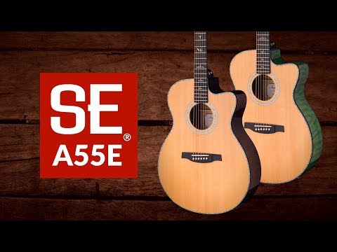 Acoustic Electric Guitars Helpful 2019 Prs Se A55e Angelus Black Gold Burst Acoustic Electric Online Discount Musical Instruments & Gear