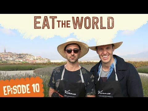 VINO! Making wine in Rioja, Spain : Andy & Ben Eat The World (Ep 10)