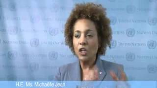 Michaelle Jean on Education for All