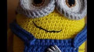 Миньон Боб вязаный крючком. Minion Bob crochet.