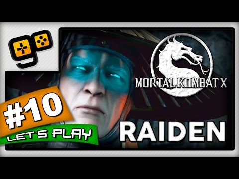 Let's Play:Mortal Kombat X - Parte 10 - Raiden