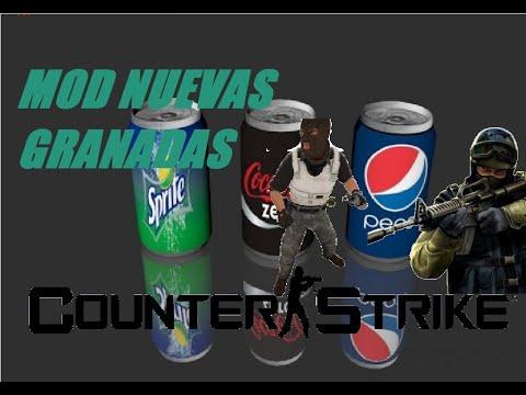 Mod Latas De Gaseosas Para El CS 1.6 Coca-Cola/Sprite/Pepsi