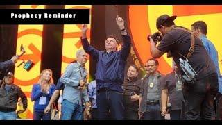 Brazilian President Declares Faith in Jesus ~ Prophecy Reminder