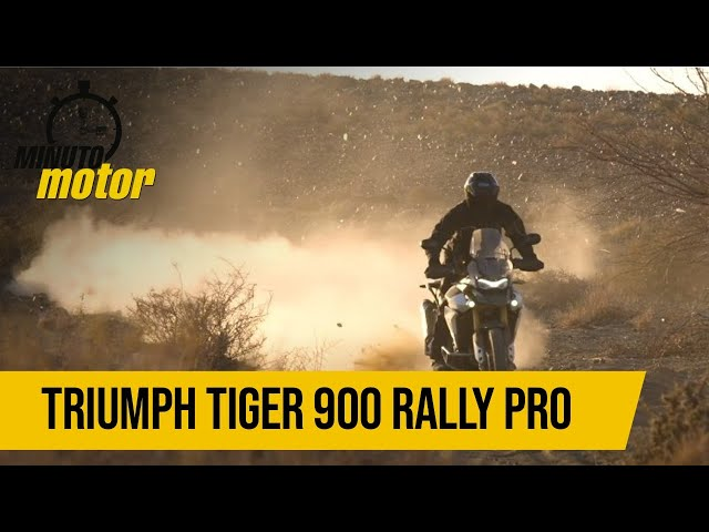 Como é pilotar a nova Triumph Tiger 900 Rally Pro