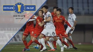 부천FC vs 상주상무 : KEB 하나은행 FA컵 16강 하이라이트-17.05.17