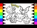 Pokemon Coloring Pages Gangar and friends colouring book fun for kids I Halloween edition