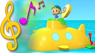 TuTiTu Songs | Submarine Song | Songs for Children with Lyrics
