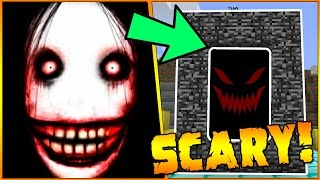 HOW TO MAKE A PORTAL TO THE JEFF THE KILLER DIMENSION - MINECRAFT
