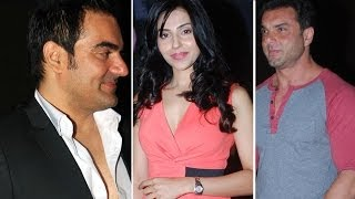 Arbaaz Khan Ashutosh Gowariker & Sohail Khan At Trailer Launch