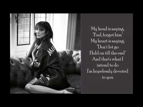 Hopelessly Devoted to You - Delta Goodrem - (Lyrics)
