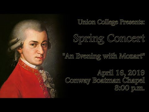 Union College Spring Concert - April 16, 2019