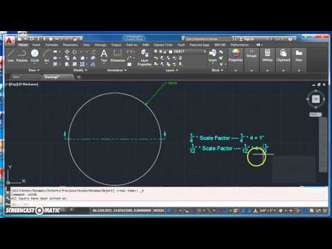 Creating the Cutting Plane Line and Leaders for Section View