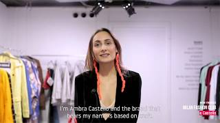 Interview with AMBRA CASTELLO | Milan Fashion Club