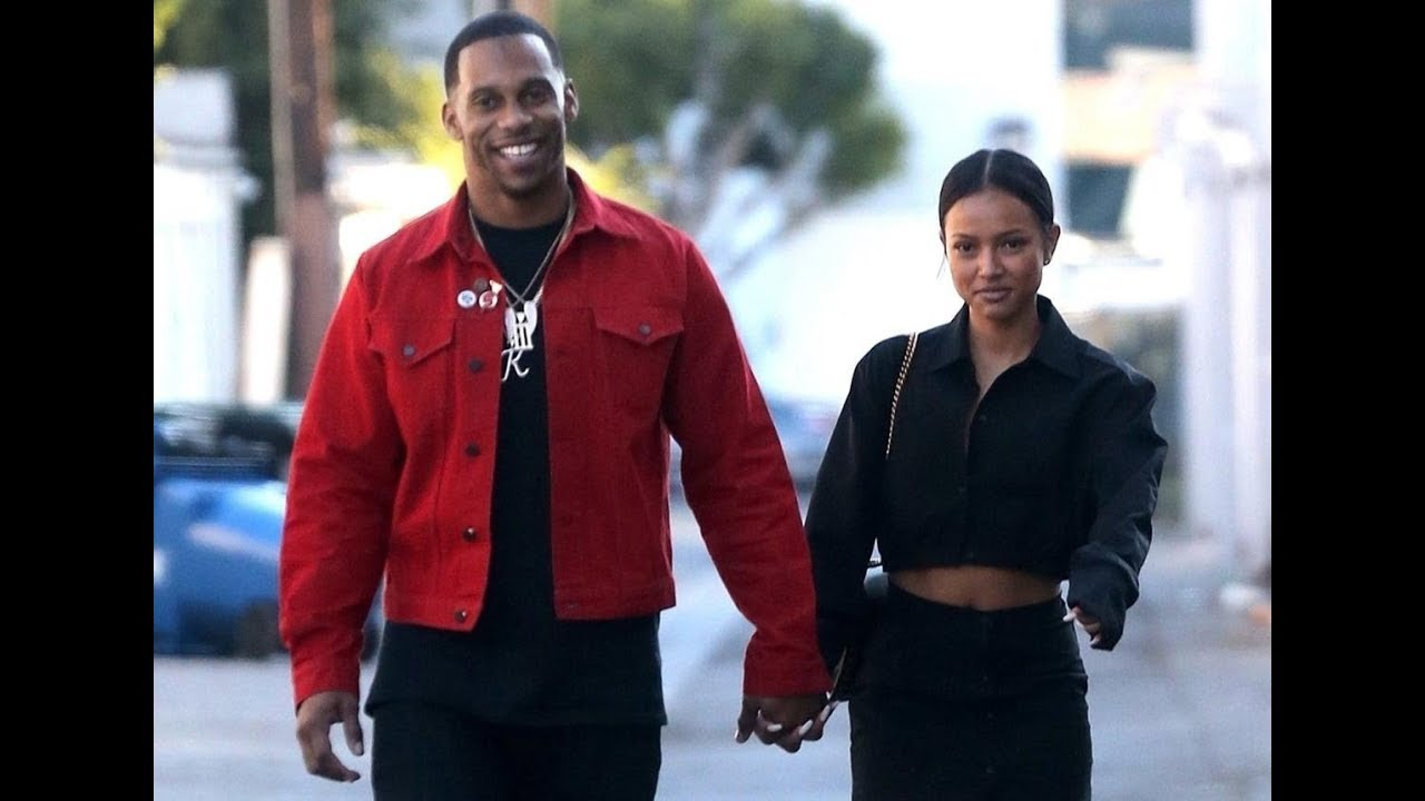 Karrueche Tran and Victor Cruz a Couple? Pair Spark Dating Rumors [PHOTO]