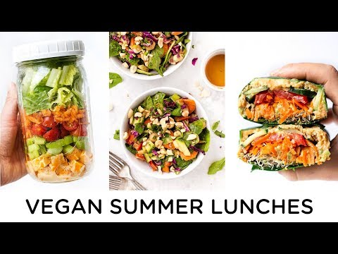 EASY VEGAN LUNCH RECIPES ‣‣ Perfect for Summer