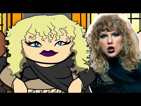 Taylor Swift - Look What You Made Me Do (CARTOON REVIEW)