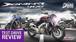 2018 Bajaj Dominar 400   Test Drive Review   Dream Drive   EP 246   Kaumudy TV