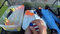 Nerf Rival Generic eBay Ammo Review and Shooting Demo