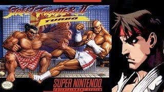 Street Fighter II Turbo - Hyper Fighting - Ryu (SNES)