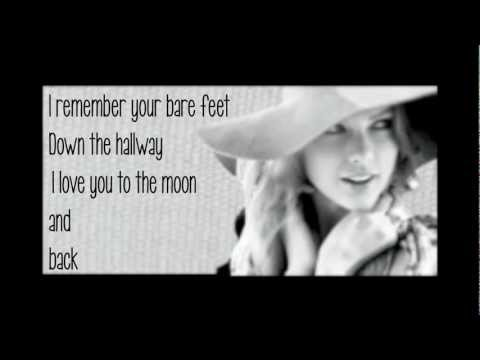 Taylor Swift-Ronan Lyrics