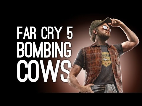 Far Cry 5 Gameplay: BOMBING COWS! DYNAMITE FISHING! – Let's Play Far Cry 5