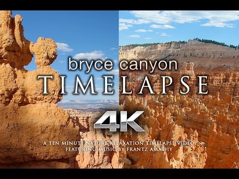 Bryce Canyon 4K 60fps TIMELAPSE | Nature Relaxation™ Music Video + Indian Flute Sounds