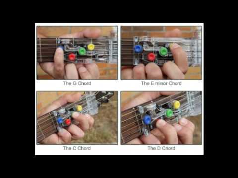 Chordbuddy Guitar Learning System And Practice Aid Youtube