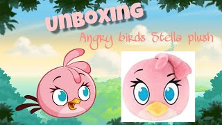 Unboxing: Angry Birds Stella Plush!