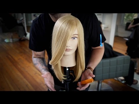 90 degree haircut how to cut a frame haircut tutorial matt beck vlog 9862 | hqdefault