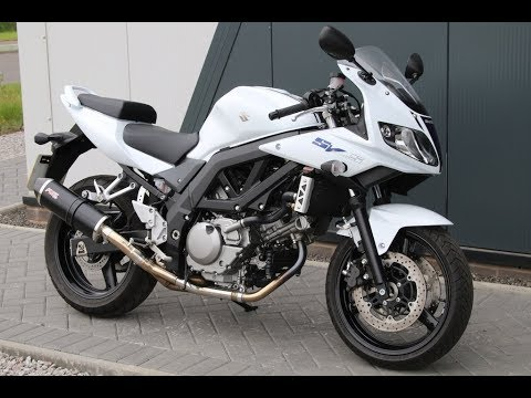 2012 SUZUKI SV650 WHITE | FUEL END CAN @ West Coast Moto, Glasgow, Scotland